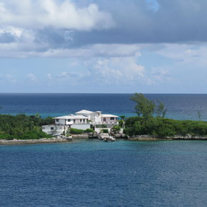 One of the Many Beautiful Bahamian Homes