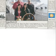 Ships wheel with travel pirates