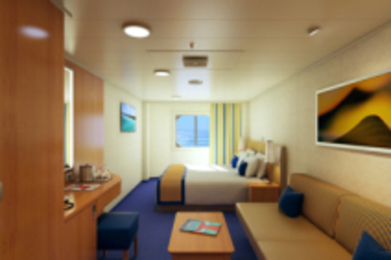Oceanview Cabin 1374 On Carnival Horizon Category 6y