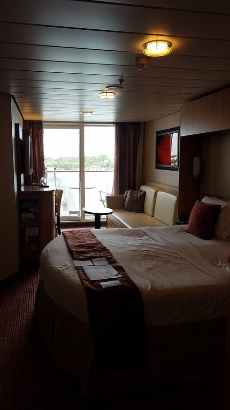 Deluxe Veranda Stateroom Obstructed View Cabin Category