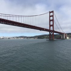 Other side of the Golden Gate Bridge