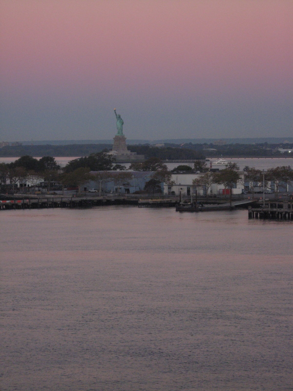 Home sweet home, end of cruise, New York, New York - Royal Princess