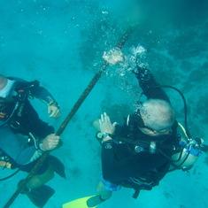 Roatan, Honduras Reef Dive