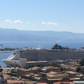 From viewpoint in messina!