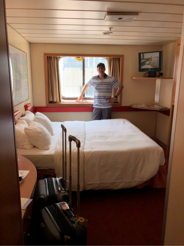 Oceanview Stateroom Cabin Category 6a Carnival Fantasy