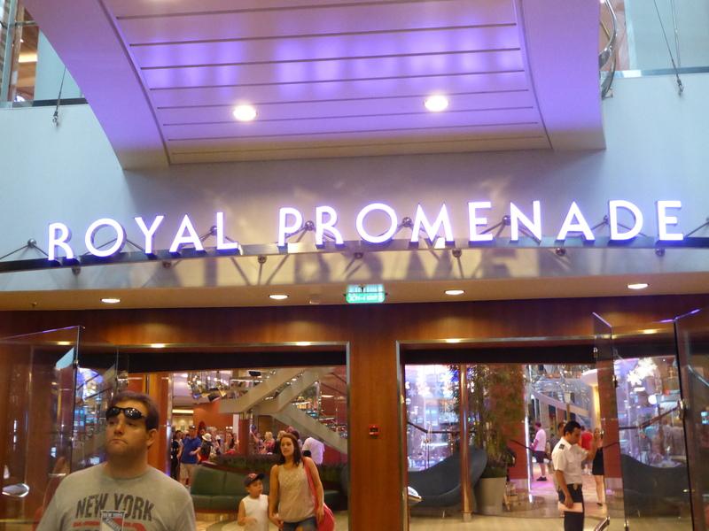Royal Promenade - Allure of the Seas