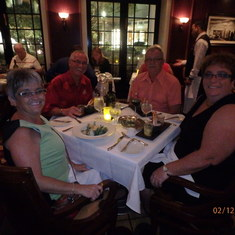 Dining at the Chops Grill Specialty Restaurant