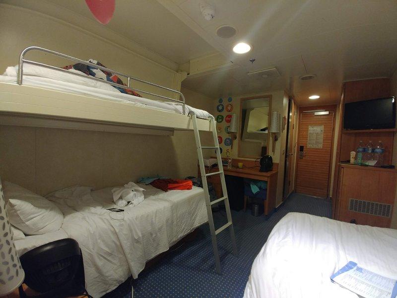 Interior Stateroom Cabin Category 4c Carnival Breeze
