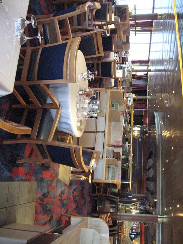 Specialty Pinaccle restaurant on Statendam  - Statendam