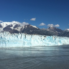 "The Hubbard ""Galloping"" Glacier - beautiful and impressive!"