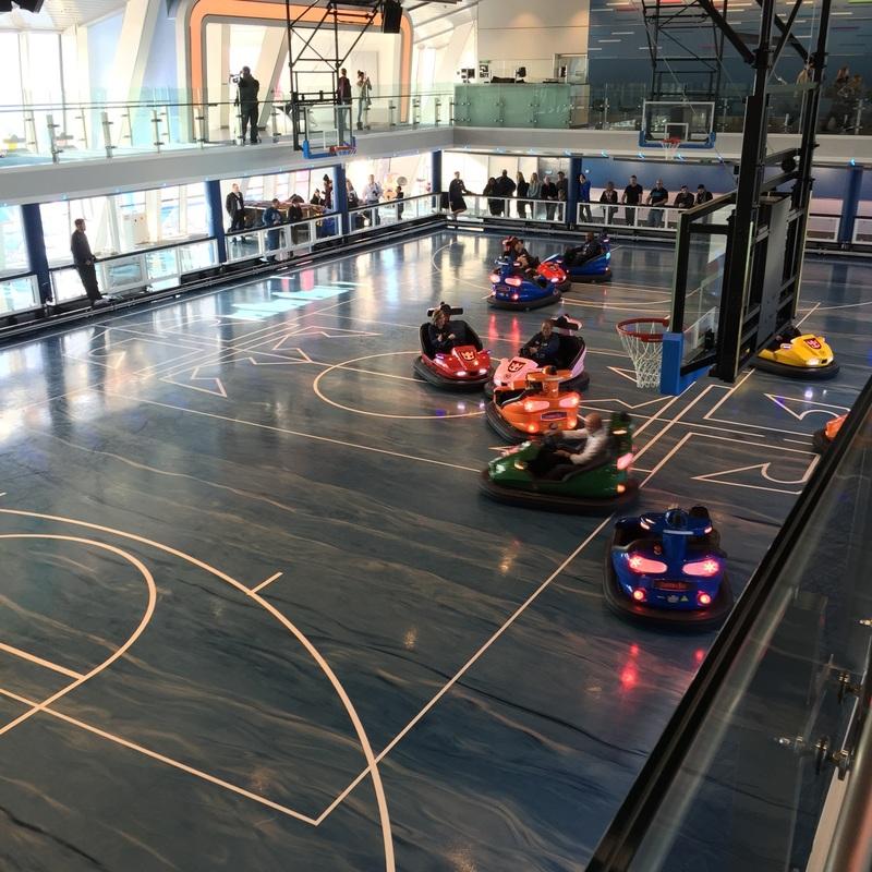 SportsPlex with Bumper Cars - Quantum of the Seas