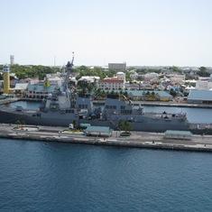 USS Lassen in Nassau