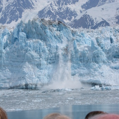 Hubbard Glacier, Alaska - Nuff said. Just look at this picture! Hubbard Glacier the best calveing viewing