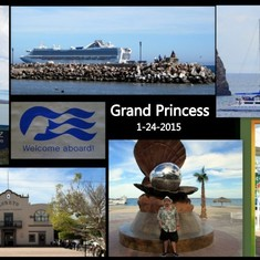 La Paz, Mexico - Greetings from the Grand Princess