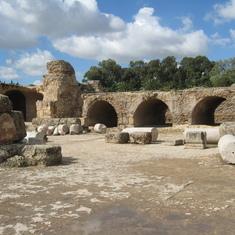 Segesta archeological site.