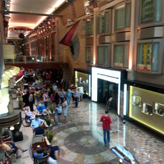 view of level 5 (shops, coffee)