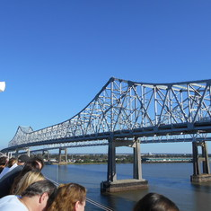 New Orleans, Louisiana - Huey Long Bridge