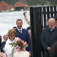 The King, Queen, Crown Prince, & Crown Princess of Norway