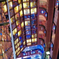 Dream Atrium on Carnival Dream
