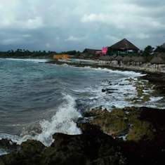 Shore view from Costa Maya