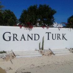 Welcome to Grand Turk.