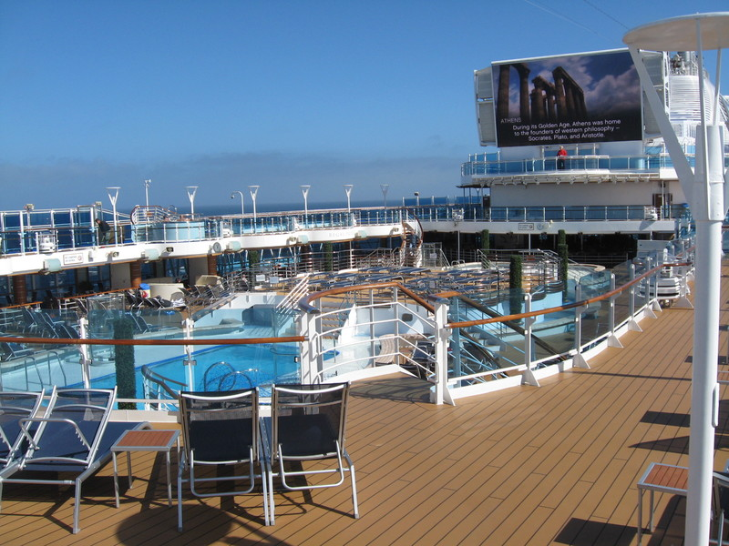 My favorite hot tub-left center - Regal Princess