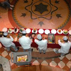 On board dessert chefs