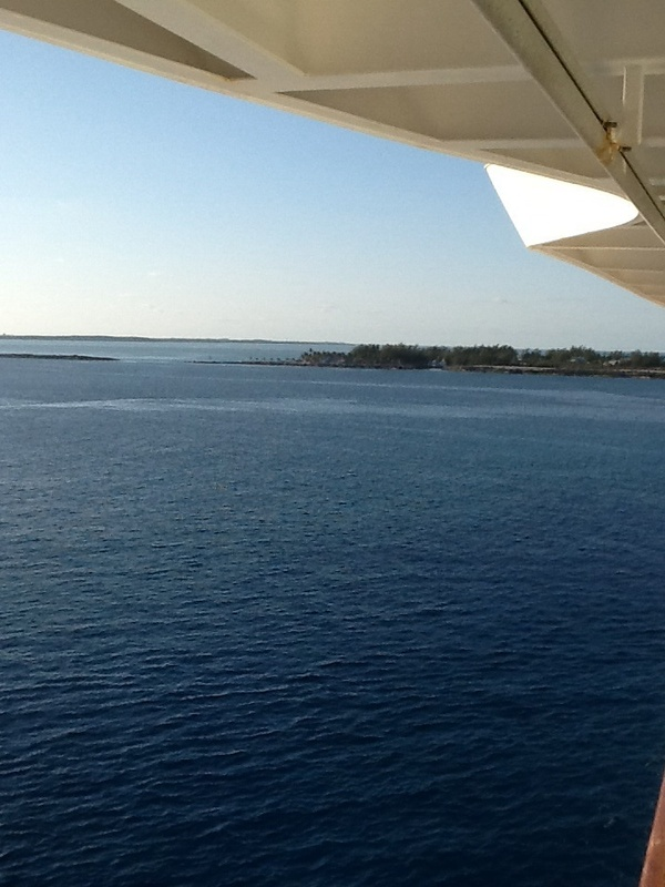 View from our room - Enchantment of the Seas
