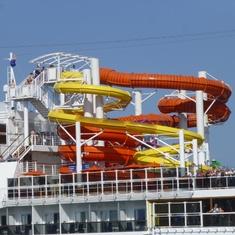 Barcelona, Spain - Water Slide - Carnival Vista