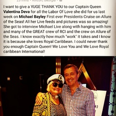 Ft. Lauderdale (Port Everglades), Florida - SPECIAL THANK YOU FROM OUR GROUP #WE LOVE ROYAL CARIBBEAN INTERNATIONAL