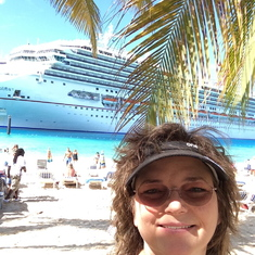 1st Port - On my way to Jack's Shack in Grand Turk.