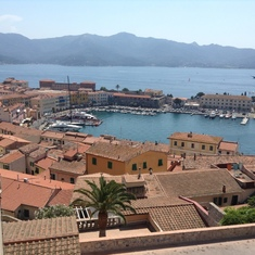Portoferraio, Elba - View of Portoferraio