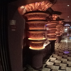 Columns and floor design