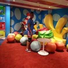 Dr. Seuss Bookville on Carnival Freedom