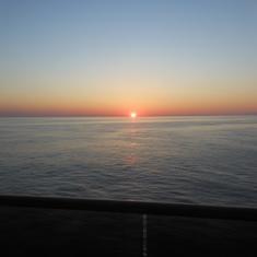 sun rise day #1