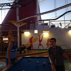 My kids loved playing billiards all day everyday