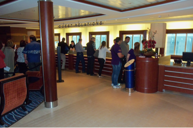 Guest Relations And Excursions on Celebrity Solstice