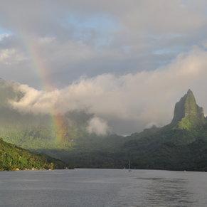 Rainbow at Moorea