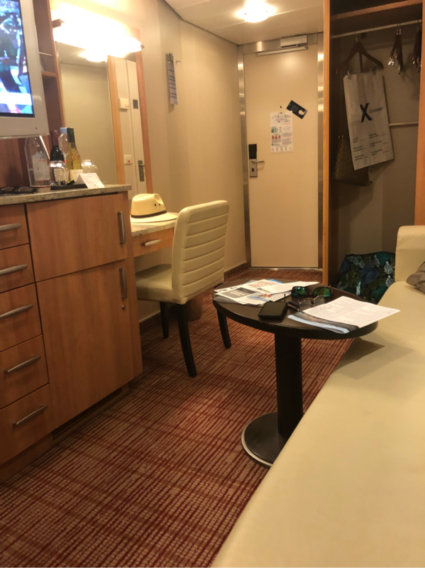 Interior Stateroom Cabin Category 10 Celebrity Equinox
