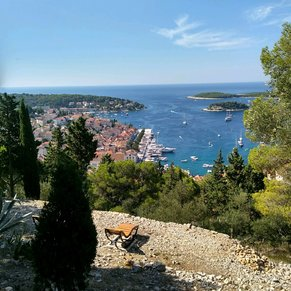 Hvar view from the castle