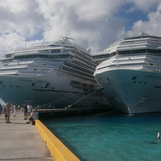 The Carnival Liberty & Carnival Splendor