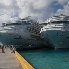 Grand Turk Island - The Carnival Liberty & Carnival Splendor