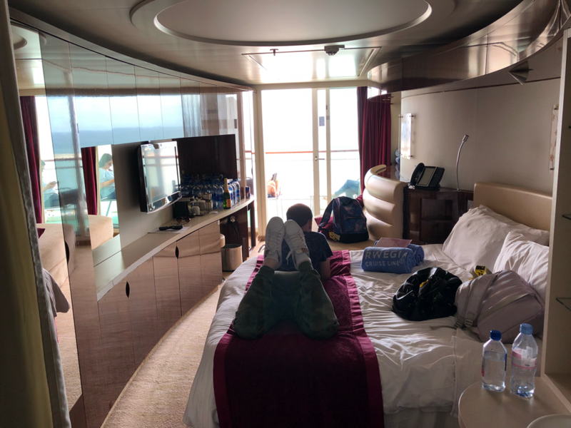Family Mini Suite With Balcony Cabin Category M4