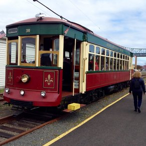 Streetcar from Port to Town