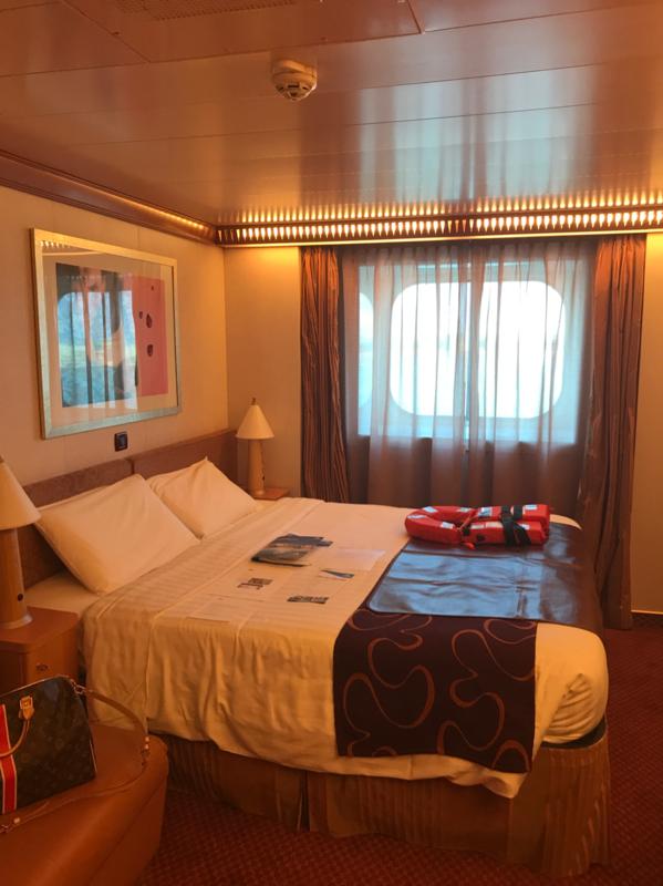 Premium Oceanview Stateroom Cabin Category Eo Costa Luminosa