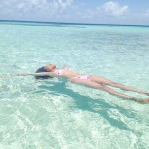 Goff's Caye, on my first cruise and possibly my favorite excursion/place so far ❤