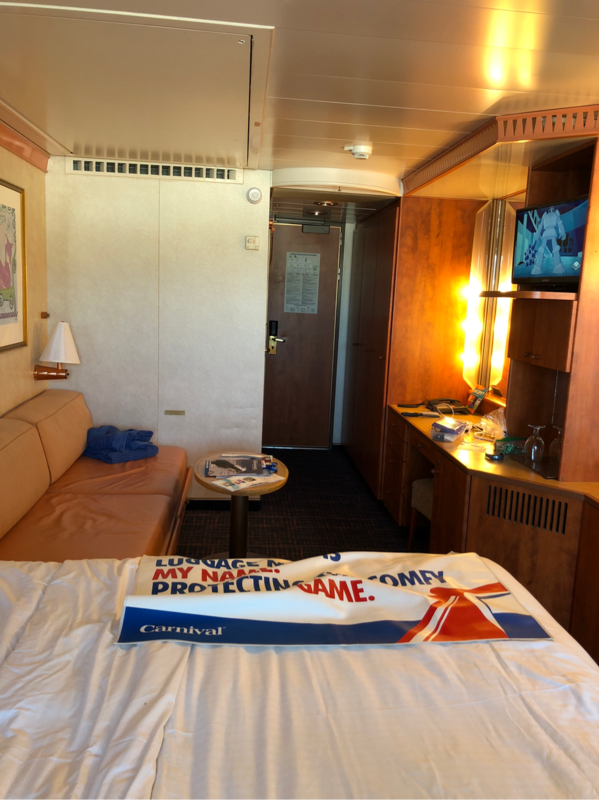 Sleep Number Bed Prices King Size >> Extended Balcony Stateroom, Cabin Category 8J, Carnival Legend
