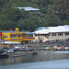 Pago Pago, American Samoa - The Golden Arches were a surprise