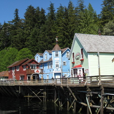Ketchikan, Alaska - Ketchikan--You can't take a cruise to Alaska without seeing Ketchikan