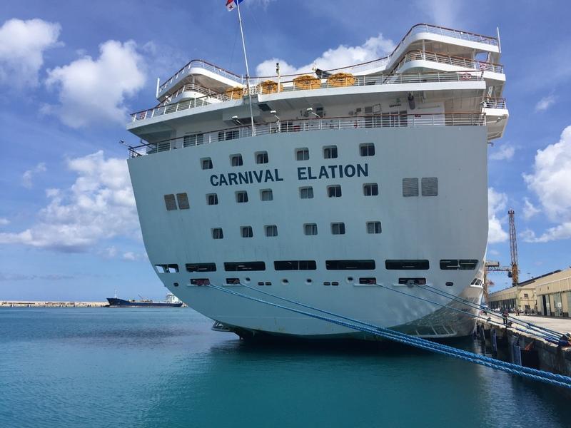 Port in Barbados  - Carnival Elation